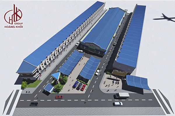 Dự án Chợ Vĩnh Tân - Hoàng Khôi Group