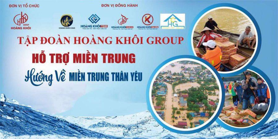 Hành trình hướng về Miền Trung - Tập đoàn Hoàng Khôi Group