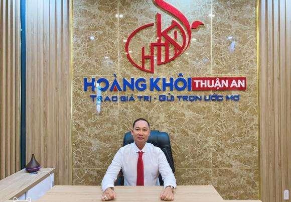Ông Hoàng Mộng Chinh - Chủ tịch Hội Đồng Quản Trị Tập Đoàn Hoàng Khôi Group