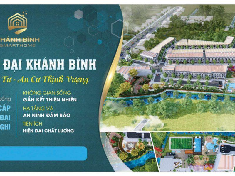 Khu nhà ở hiện đại - Khánh Bình Smart Home