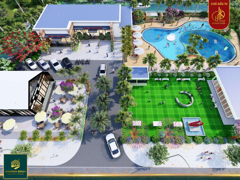Hình ảnh: Môi trường sống xanh mát cùng với tiện ích xứng tầm tại dự án Đại Khánh Bình