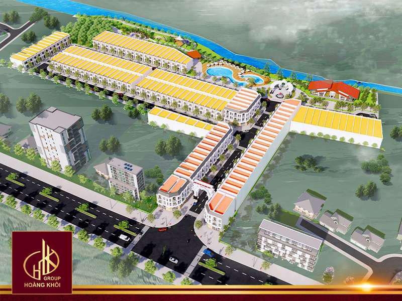 Phối cảnh dự án Tân Hiệp City