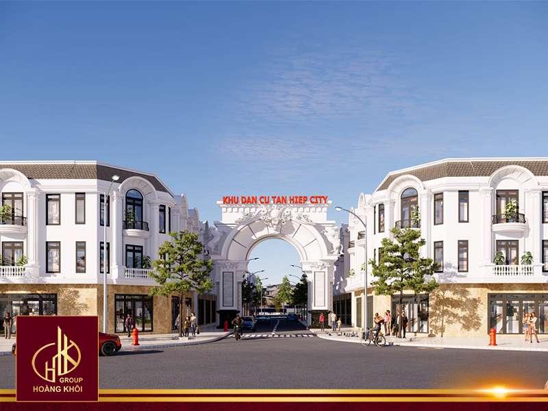 Tổng quan dự án Khu dân cư Tân Hiệp City