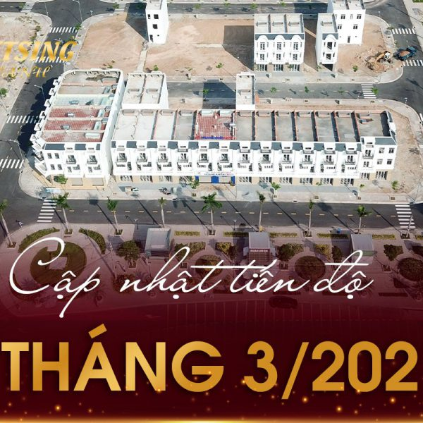 Cập nhật tiến độ dự án Khu nhà ở VietSing Phú Chánh tháng 03 2021