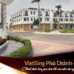 Cập nhập tiến độ dự án Khu nhà ở VietSing Phú Chánh tháng 4 2021